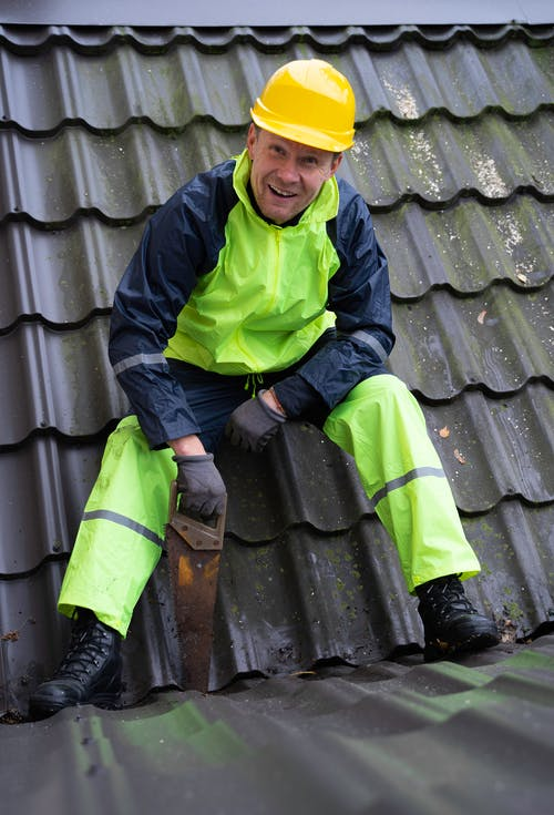 A Carpenter on the Roof