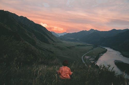 가벼운, 감탄하다, 강의 무료 스톡 사진