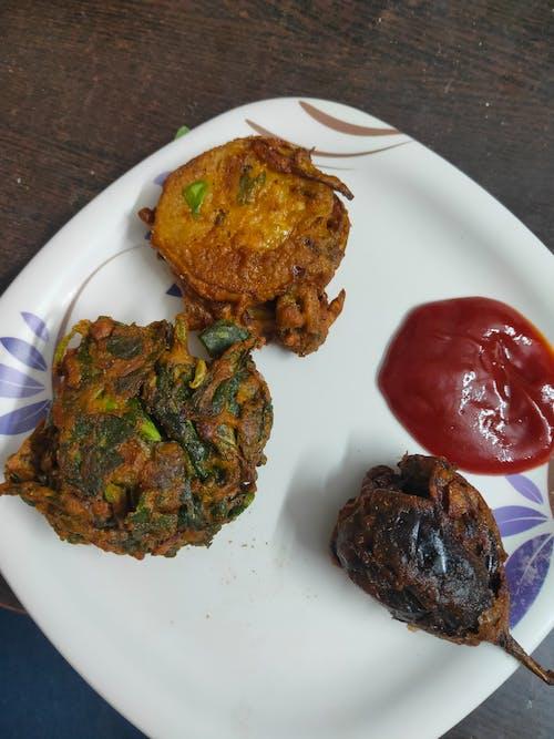 Free stock photo of chinese food, indian food, pakoda
