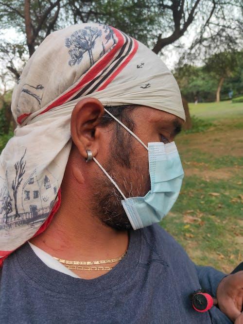 Free stock photo of black mask, clay mask, corona mask