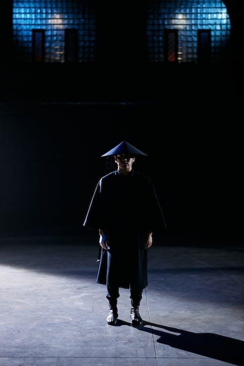 Man in Black Academic Dress