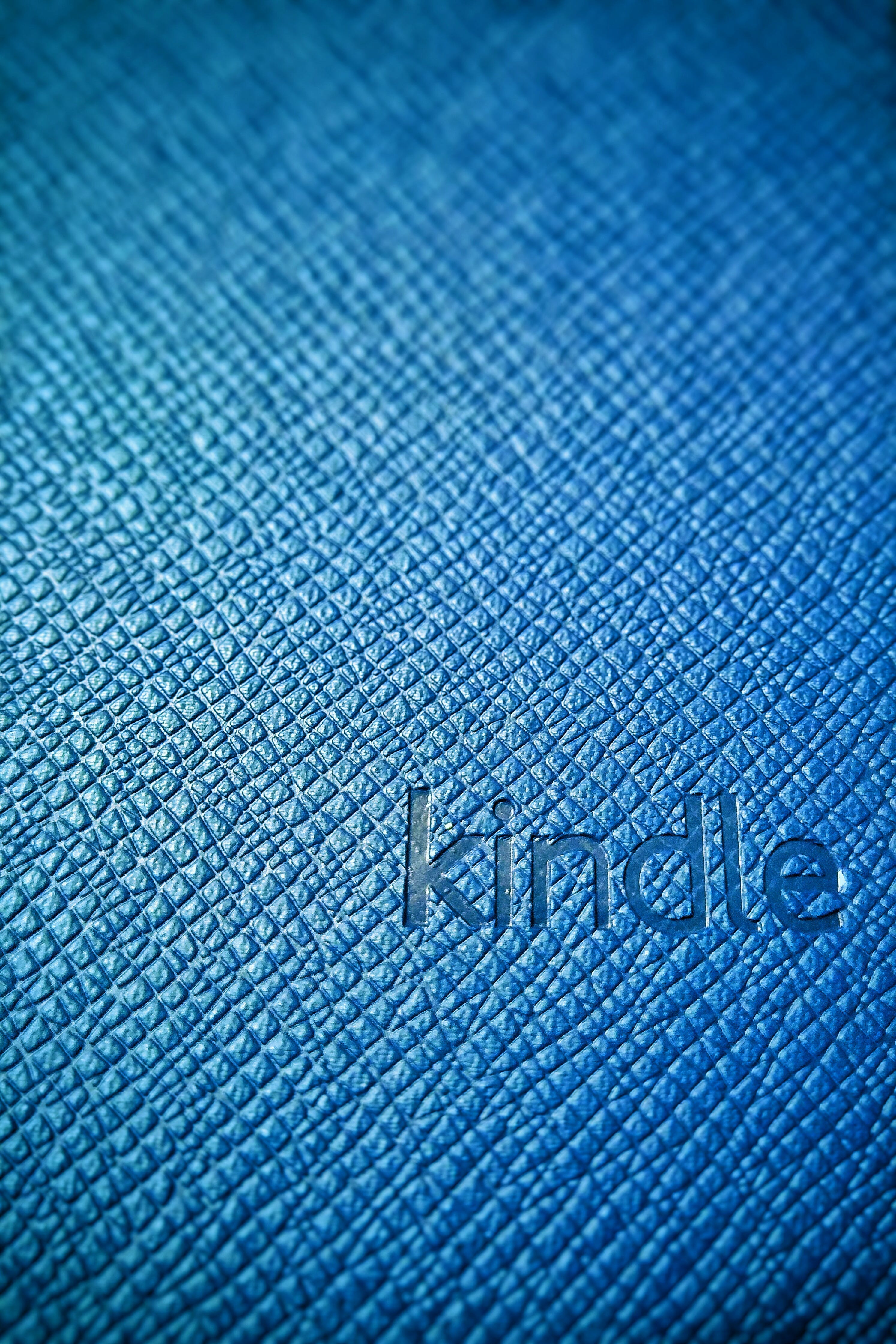 Free stock photo of blue, book, kindle, theme details