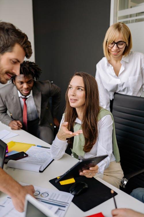 คลังภาพถ่ายฟรี ของ współpracownik, การทำงาน, การประชุม