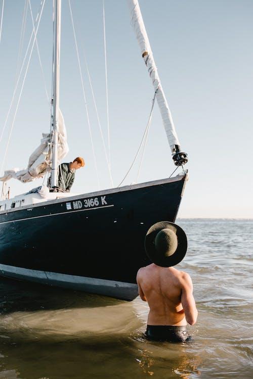 Gratis arkivbilde med akvatisk, anonym, båt