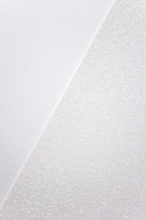 Close-Up Shot of a White Wall