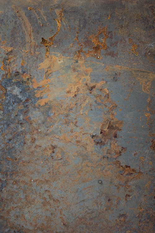 Brown and Gray Concrete Floor