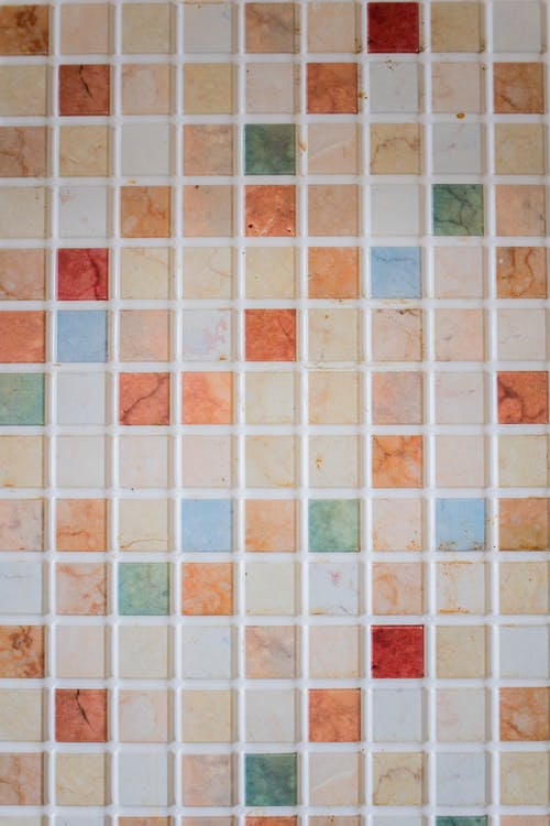 White Red and Brown Ceramic Tiles