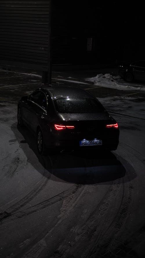 Black Honda Car on Road