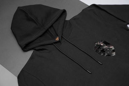 Free stock photo of black, black hoodie, clothing