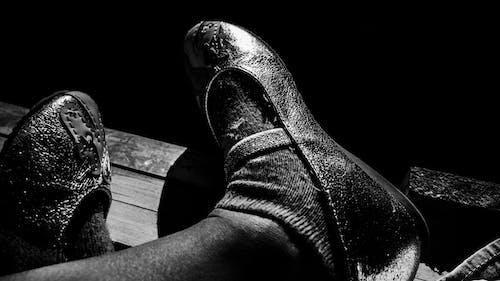 Free stock photo of feet, shoe, socks