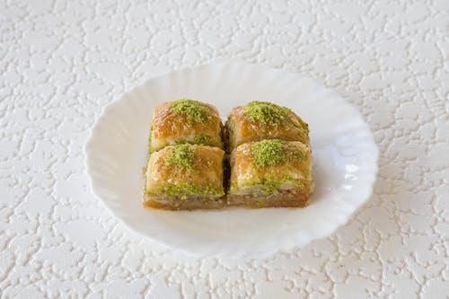 Gratis stockfoto met afkomstig, avondeten, baklava