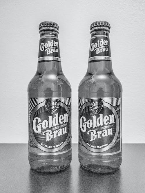 Free stock photo of beer, beer bottles, black