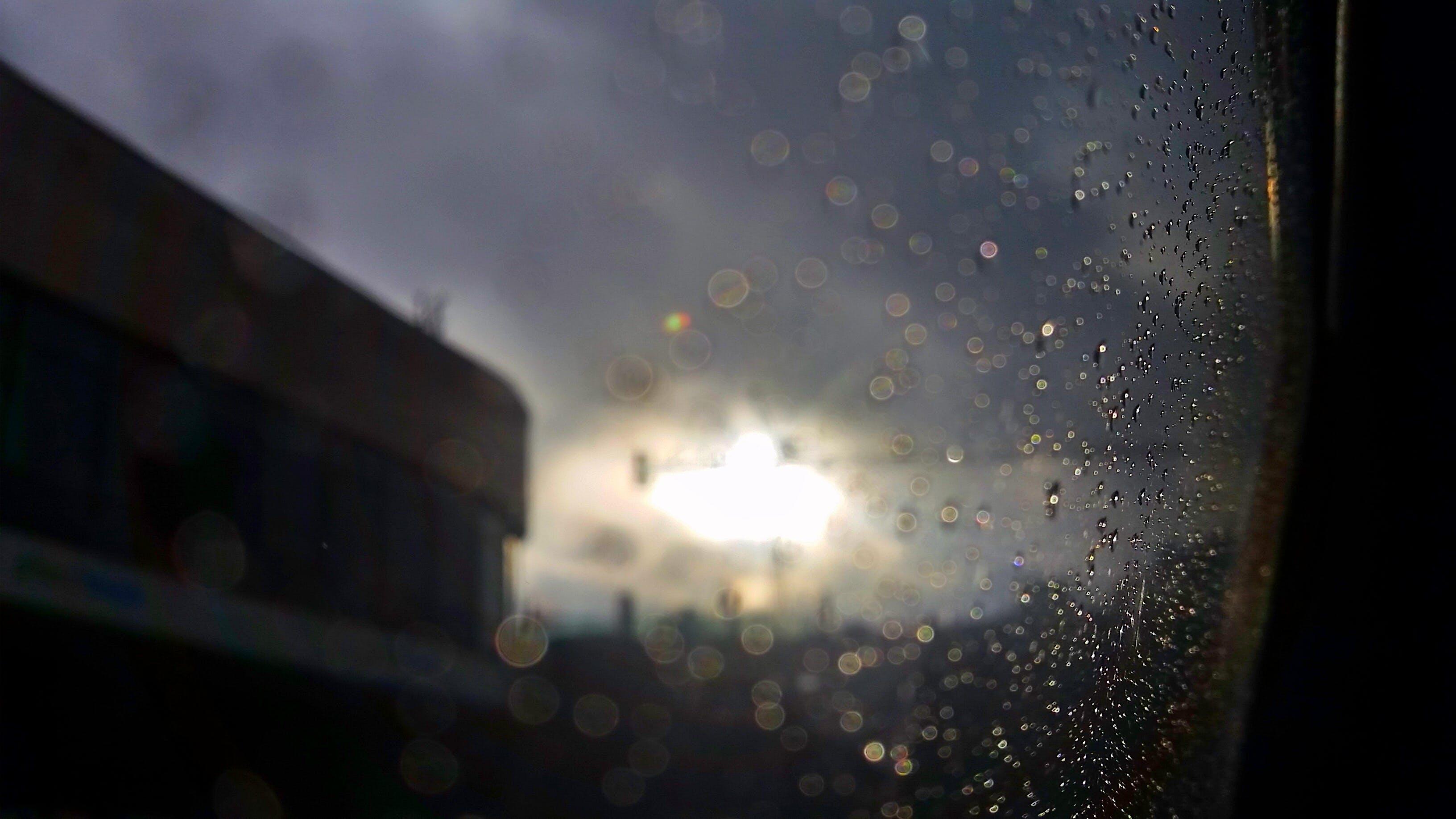 Free stock photo of clouds, sun, rain