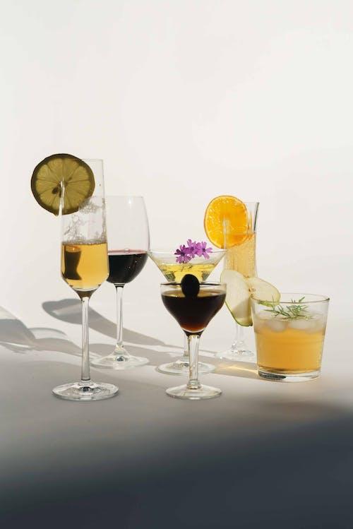 Безкоштовне стокове фото на тему «алкоголь, апельсин, аперитив»