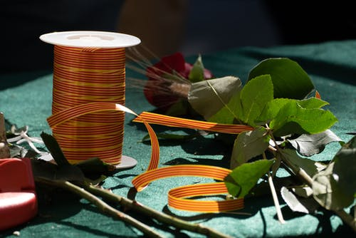 Gratis arkivbilde med bånd, båndrull, blader