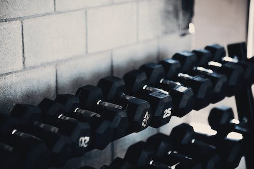 Free stock photo of crossfit, dumbbell, fitness