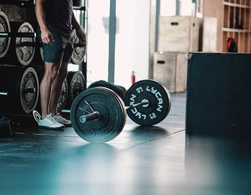 Free stock photo of active, athlete, barbell