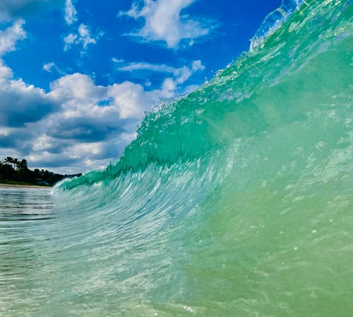 Free stock photo of beach waves, ocean, surf