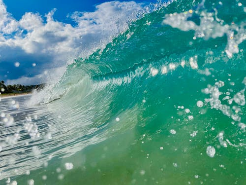 Free stock photo of beach waves, surf, wave