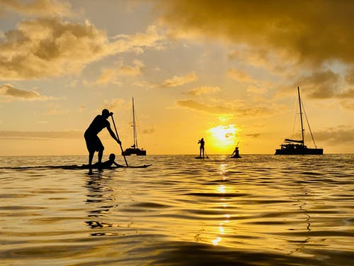 Free stock photo of beach, beach sunset, boat