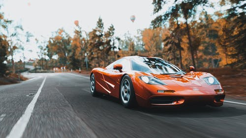 Free stock photo of action, asphalt, auto racing