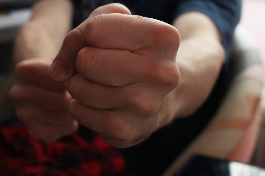 bronson, fist, hand