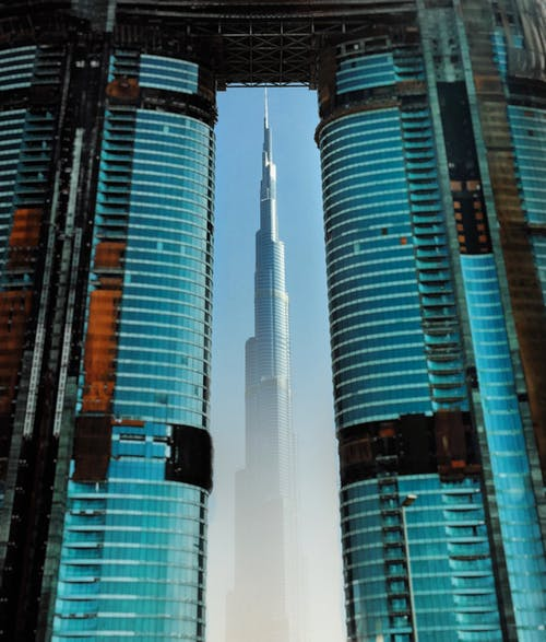 The Picturesque Scenery of the the Burj Khalifa