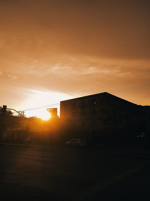 Free stock photo of Beautiful sunset, big city, cinematic