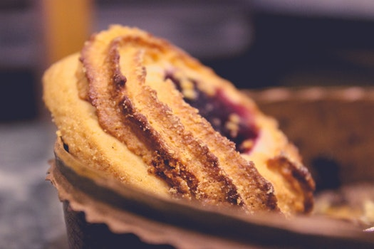 Brown Bread on Basket