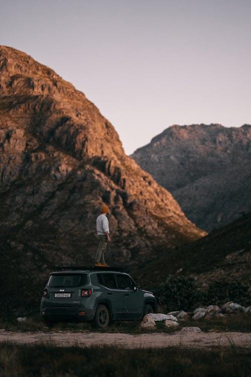 Imagine de stoc gratuită din automobil, drum de pământ, drum neasfaltat