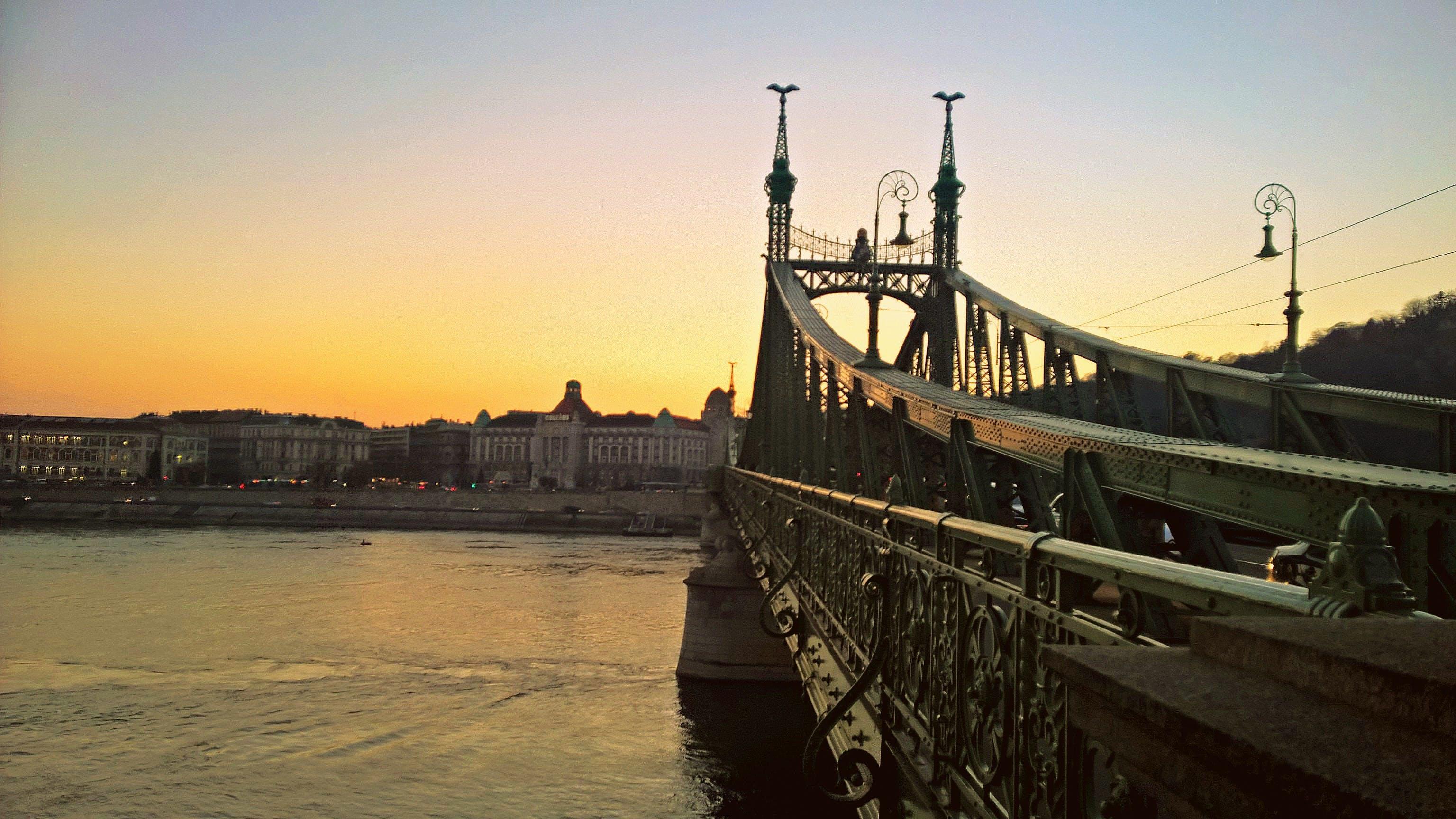 Free stock photo of sunset, architecture, urban, hungary