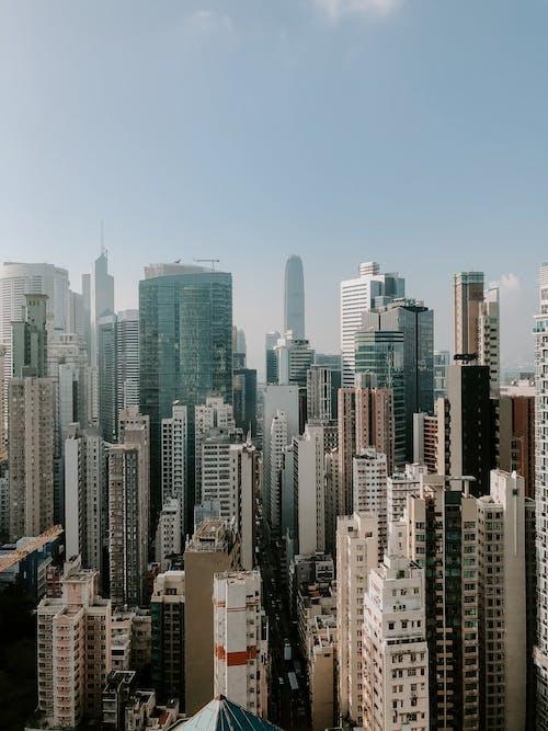 Immagine gratuita di aereo, alto, architettura