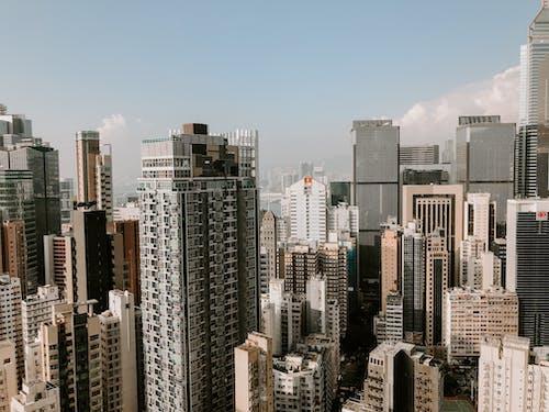 거리, 건물, 건물 외관의 무료 스톡 사진
