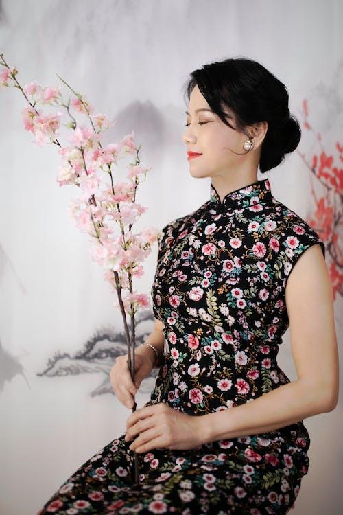 Free stock photo of adult, beautiful, cheongsam