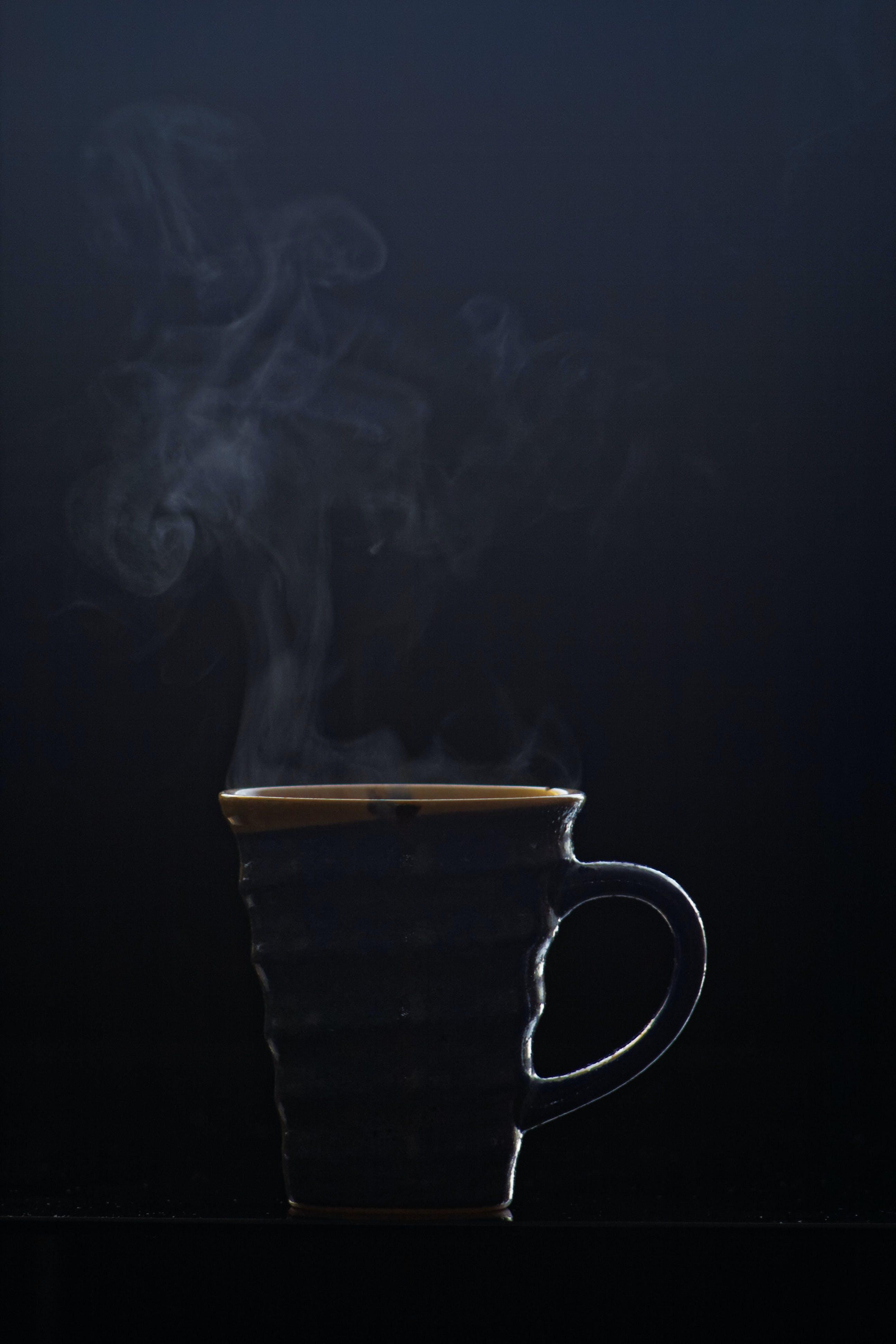 Free stock photo of mug, hot, steam