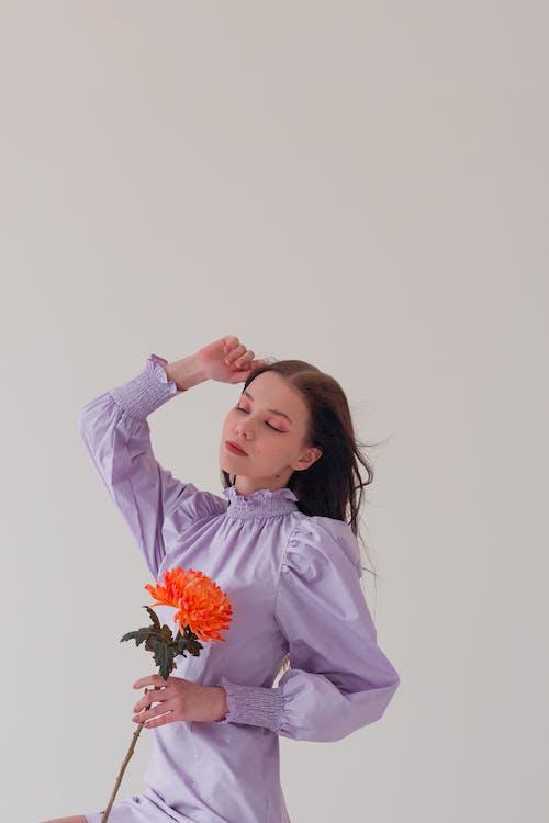 エレガント, オレンジ, ゴージャスの無料の写真素材