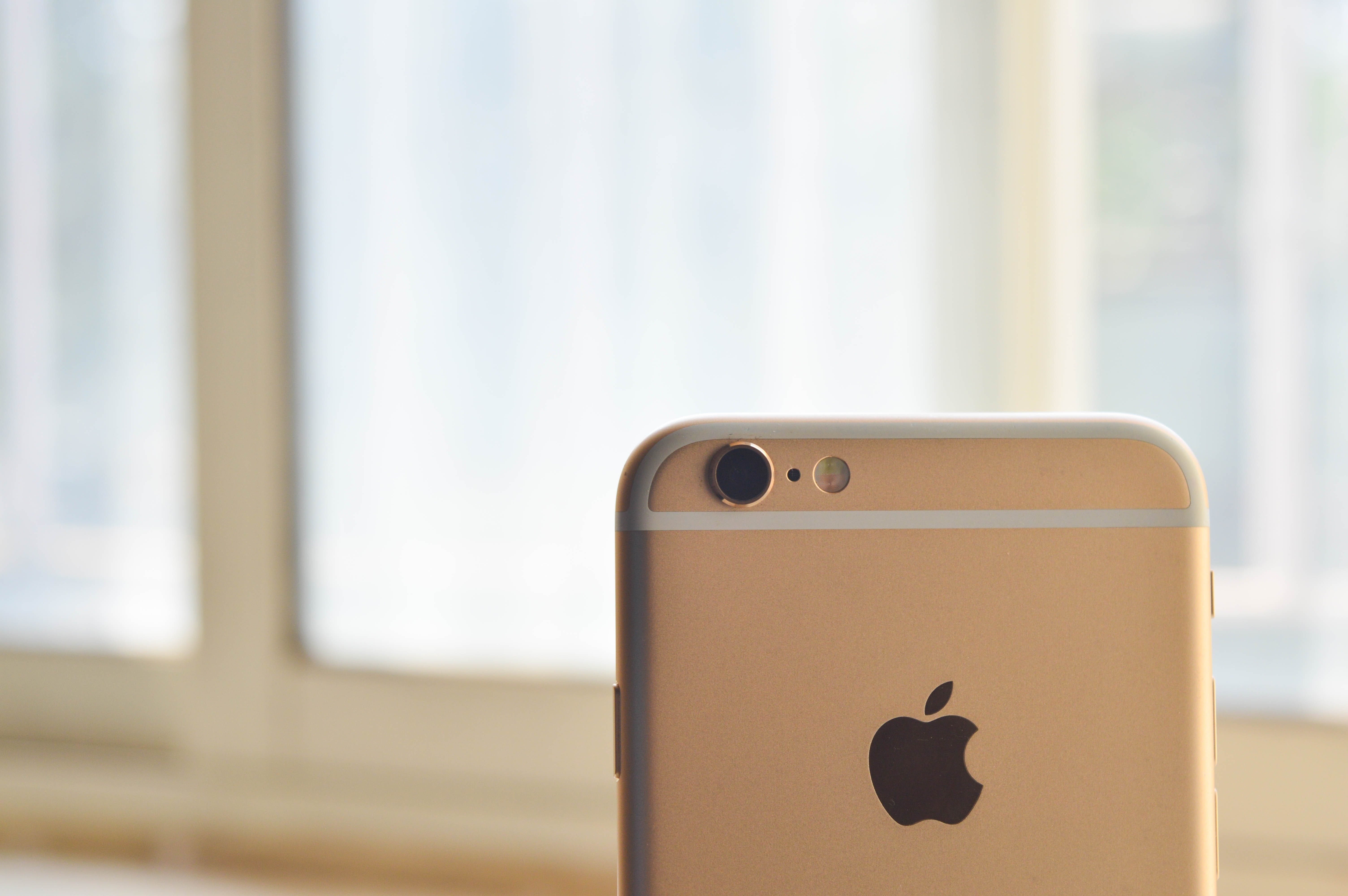 Close-up Photography of an Iphone