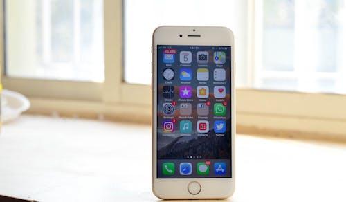 Gratis stockfoto met appel, blog, instagram, iphone