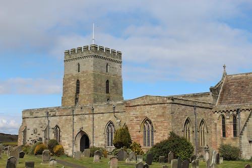 Gratis arkivbilde med bamburgh, england, englands kirke