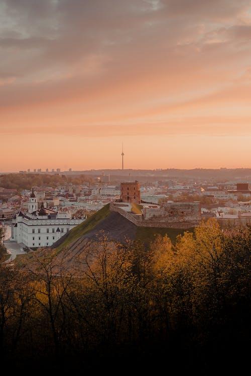 Δωρεάν στοκ φωτογραφιών με απόγευμα, αρχιτεκτονική, αυγή