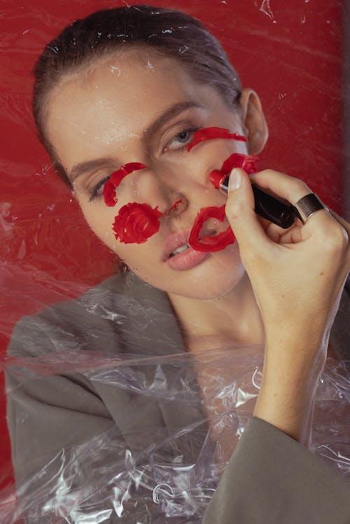 人, 口紅, 嘴唇 的 免費圖庫相片