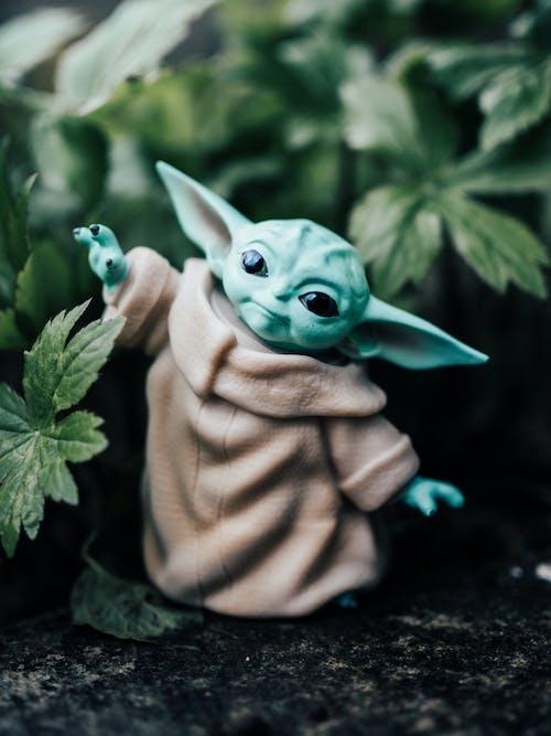 Fotos de stock gratuitas de bebé yoda, guerra de las Galaxias, juguete