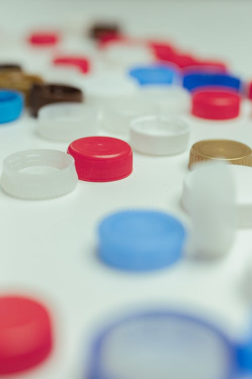 Colorful Bottle Caps