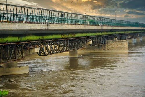 Free stock photo of yamuna bridge
