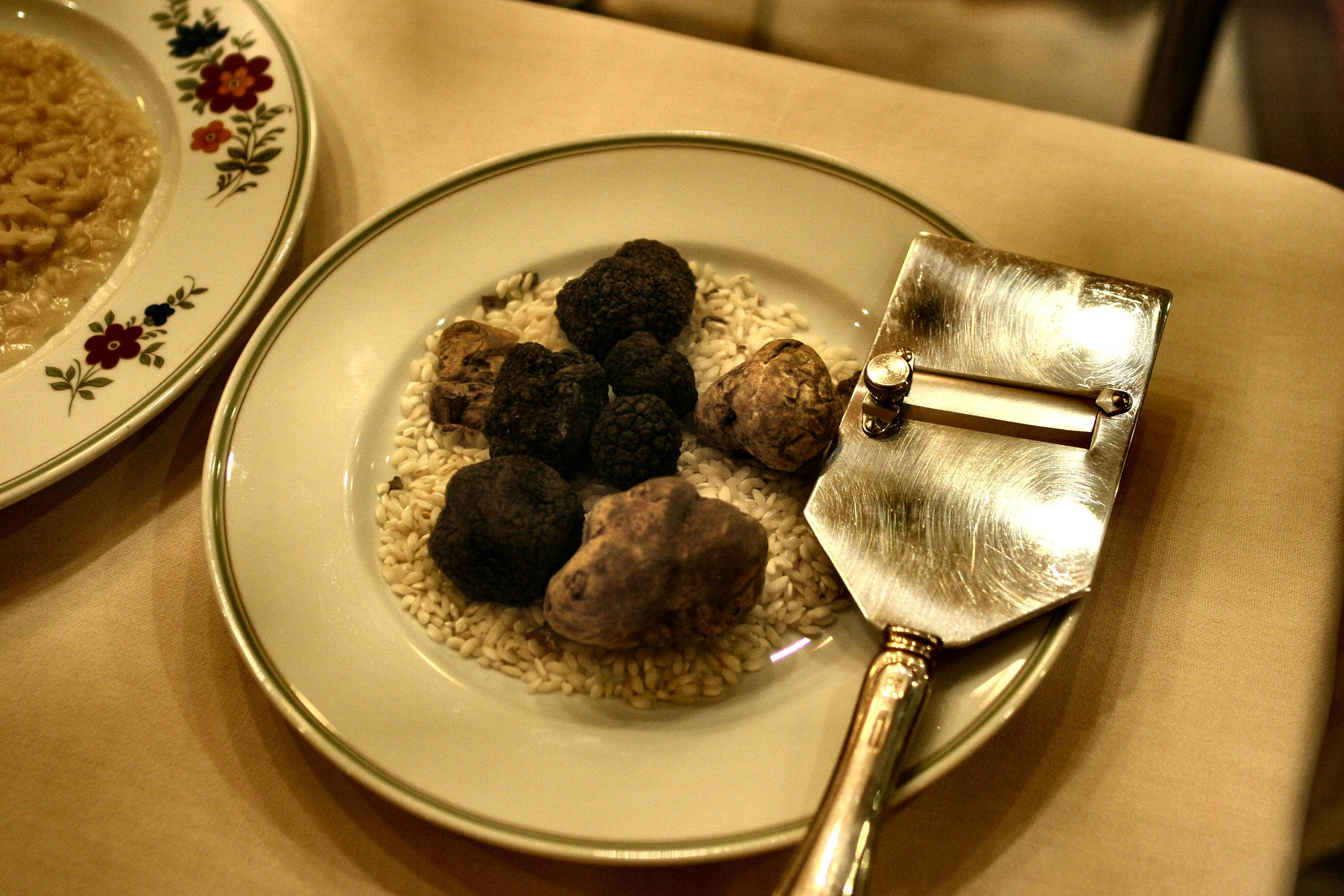 Photo of Truffles on the Plate