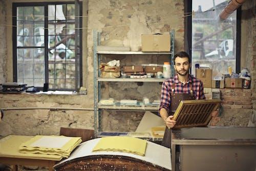 Free stock photo of apron, artisan, garda, guy