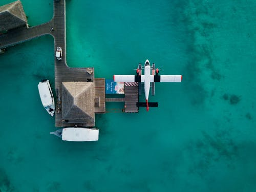 Fotos de stock gratuitas de aéreo, afuera, agua