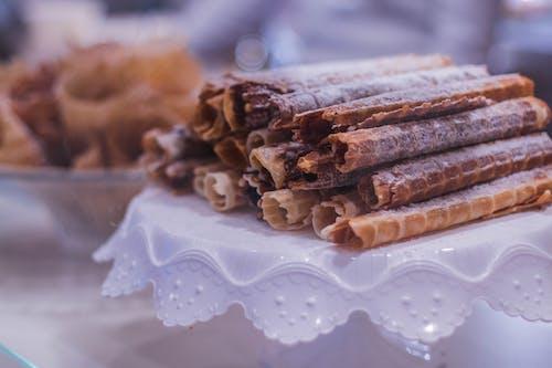 Imagine de stoc gratuită din adâncime de câmp, delicios, dulciuri, farfurie