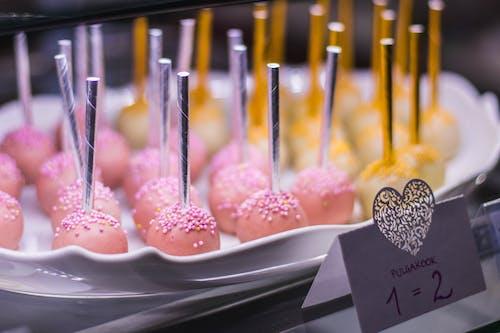 Foto d'estoc gratuïta de cake pops, deliciós, dolços, festa