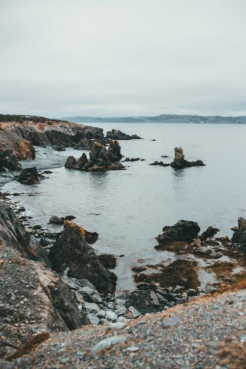 Darmowe zdjęcie z galerii z góra, krajobraz, morze